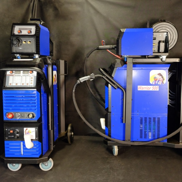 Warrior_Welders_Welding_Machines_Services_Warrior_500_Three_Phase_Pulse_MIG_Welder_With_Built_In_Fume_Extraction